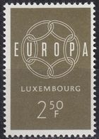 LUXEMBURG LUXEMBOURG [1959] MiNr 0609 ( **/mnh ) CEPT - Luxemburg