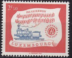LUXEMBURG LUXEMBOURG [1959] MiNr 0611 ( **/mnh ) Eisenbahn - Luxemburg