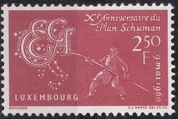 LUXEMBURG LUXEMBOURG [1960] MiNr 0620 ( **/mnh ) - Luxemburg