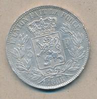 België/Belgique 5 Fr Leopold II 1868 Morin 155 (89320) - 09. 5 Francs