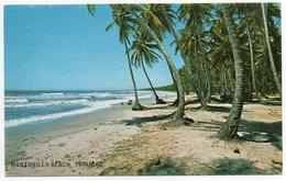 TRINIDAD & TOBAGO - MANZANILLA BEACH,TRINIDAD / THEMATIC STAMP-FLOWER - Trinidad