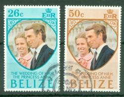 Belize: 1973   Royal Wedding     Used - Belize (1973-...)