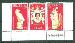 Belize: 1978   25th Anniv Of Coronation     MNH Sheetlet - Belize (1973-...)