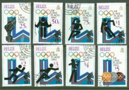 Belize: 1979   Winter Olympic Games, Lake Placid (1980)    Used - Belize (1973-...)