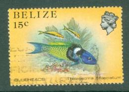 Belize: 1984/88   Marine Life   SG773    15c   Used - Belize (1973-...)