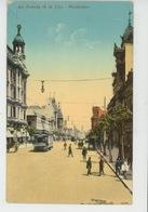 URUGUAY - MONTEVIDEO - Avenida 18 De Julio (tramway ) - Uruguay