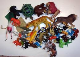 Lot D'animaux Sauvages Vintage - Figurines