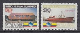 Ecuador 1994 Antarctica 2v ** Mnh (44163) - Ecuador