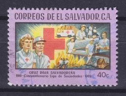 El Salvador 1969 Mi. 974     40 C Red Cross Rotes Kreuz Croix Rouge - El Salvador