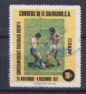 El Salvador 1977 Mi. 1226     10 C Airmail Zentralamerikanische Sportspiele Fussball Football - El Salvador