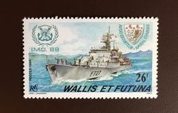 Wallis & Futuna 1989 IMO Ships MNH - Wallis-Et-Futuna