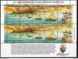 # Niuafo'ou 1996**Mi.308-17 Evacuation Of Niuafo'ou , MNH[19;150] - Sonstige