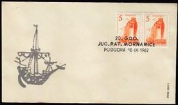 Yugoslavia Croatia Podgora 1962 / 20 Years Of Yugoslav War Navy - Briefe U. Dokumente