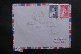 ViÊT-NAM - Enveloppe De Saïgon Pour La France En 1957, Affranchissement Plaisant - L 39191 - Viêt-Nam