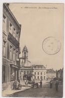 62  AIRE SUR LA LYS - Rue Biennes Journal Republicain Avenir D'Aire - CPA  N/B  9x14 BE - Aire Sur La Lys