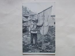 Carte Postale  - LE TREPORT (76) - Type De Pêcheur (3124) - Le Treport