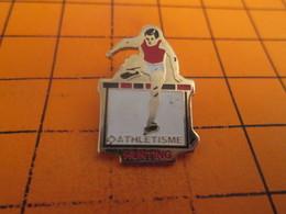 915B Pin's Pins / Rare Et  Belle Qualité !!! THEME : SPORTS / ATHLETISME COURSE DE HAIES HUNTING - Athletics