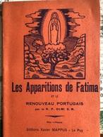 Les Apparitions De Fatima (livret De 32 Pages De 11cm Sur 17 Cm) - Religion & Esotérisme