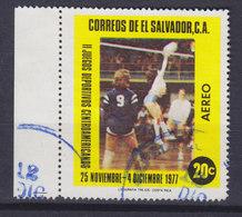 El Salvador 1977 Mi. 1229     20 C Zentralamerikanische Sportspiele, San Salvador Voleyball M. Rand !! - El Salvador