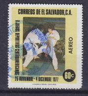 El Salvador 1977 Mi. 1238     60 C Zentralamerikanische Sportspiele, San Salvador Judo - El Salvador