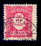 ! ! Portugal - 1904 Postage Due 50 R - Af. P 12 - Used - Port Dû (Taxe)