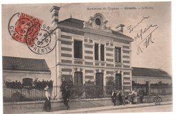 REF 411 : CPA 16 Environs De Cognac Crouin L'Ecole - France