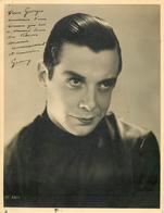 Photo Dédicacée De Fernand Gravey Pour Georges Bouban -1932 - C P 3564- Léger Défaut - Voir Scan Verso - Photographie