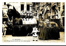 Malines Mechelen 96 Le Cheval Bayard Monté Par Les 4 Fils Aymon Bon état 1913 - Malines