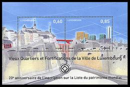 LUXEMBOURG 1948/49 Château, Unesco - Castles