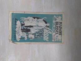 Publication Habillement-Meubles Maison BUMSEL BELFORT-THAN 1920-30 - Publicités