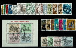 Berlin Michel Nr. 326 - 352 EST Gestempelt (Jahrgang 1969 Komplett) - Used Stamps