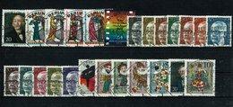 Berlin Michel Nr. 353 - 378 EST Gestempelt (Jahrgang 1970 Komplett) - Berlin (West)
