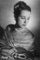 Photo Dédicacée De Marcellle Derien - Photo Harcourt - Format 10x15cm - Autres