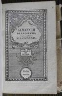Almanach De Lausanne Pour 1839 - Livres, BD, Revues