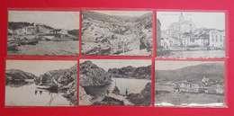 Cadaques RARES 6 Tarjetas Postal Antic Port Lligat I Calas Catalunya Catalogne éditeur 5Labouche 1Esquirol - Autres