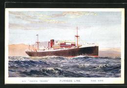 AK Handelsschiff MS Pacific Trader Furness Line - Commercio