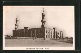CPA Khartoum, The Mosque - Postales
