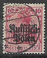 GERMANIA OCCUPAZIONE TEDESCA 1915 DELLA POLONIA  UNIF. 3  USATO VF - Occupazione 1914 – 18