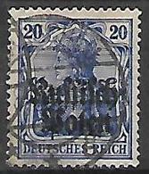GERMANIA OCCUPAZIONE TEDESCA 1915 DELLA POLONIA  UNIF. 4  USATO VF - Occupazione 1914 – 18