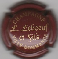 CAPSULE  MUSELET . CHAMPAGNE LEBOEUF ET FILS . VILLE-DOMMANGE - Other
