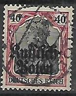GERMANIA OCCUPAZIONE TEDESCA 1915 DELLA POLONIA  UNIF. 5  USATO VF - Occupazione 1914 – 18