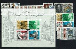 Berlin Michel Nr. 442 - 463 EST Gestempelt (Jahrgang 1973 Komplett) - [5] Berlin