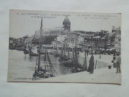 Carte Postale  - LE TREPORT (76) - Port Eglise Et Quai François 1er (3138) - Le Treport