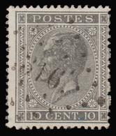 COB 17 - Obl. Losange De Points - Bureau N° 316 (ROUSBRUGGE ) - 1865-1866 Profile Left