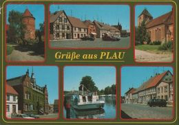 Plau - 6 Teilbilder - Ca. 1990 - Plau