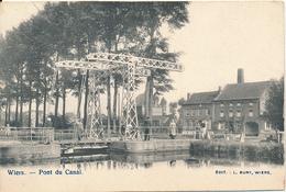 BELGIQUE PERUWELZ WIERS PONT DU CANAL - Péruwelz