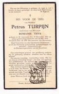 DP Petrus Turpijn ° Sint-Laureins 1851 † 1932 X Romanie Thys - Imágenes Religiosas