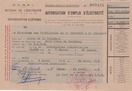 1945 / OCRPI / Rationnement électricité 89434 - 1939-45
