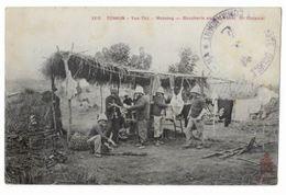 Vietnam - Tonkin - Yen-Thê - Motrang - Boucherie En Plein Vent - 10e Colonial - Vietnam