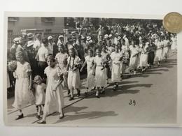 Aarau, Jugendfest, Bezirksschule, Mädchen, 1939 - AG Argovie